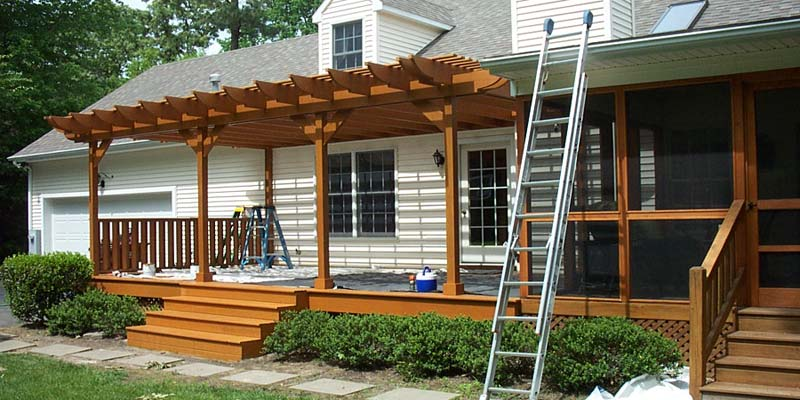 Pergola as Porch